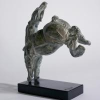 Small kicking horse  1992 Bronze 8 ex. - Height : 8,66 in