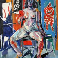 Nude 1988 Oil on canvas