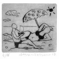 The beach III 2007