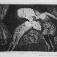 Amor & Psyche 2004 Acid etching and aquatint - Edition of 10