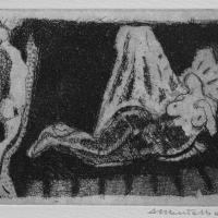 Languorous 2004 Acid etching and aquatint - Edition of 10